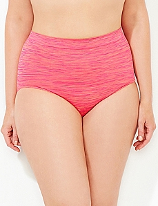 Striped Seamless Full Brief