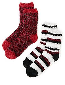 Marbled & Striped 2-Pack Socks