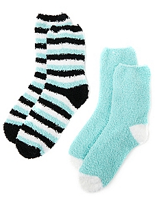 Cozy Perfect Plush 2-Pack Socks