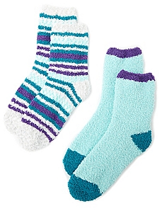 Cozy Dot 2-Pack Socks
