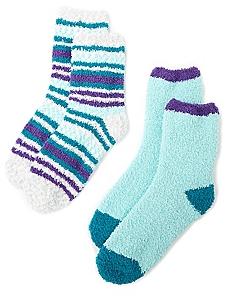Cozy Dot 2-Pack Socks