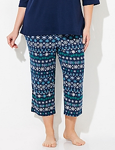 Nordic Cozy Chic Sleep Capri