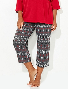 Nordic Naughty & Nice Sleep Capri