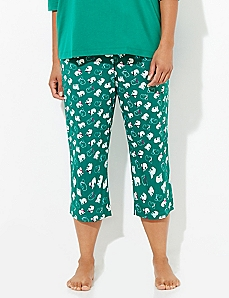 Polar Bear Cozy Chic Sleep Capri