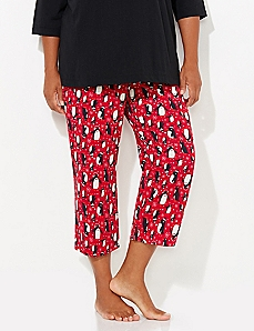 Penguin Holiday Glitz Sleep Capri