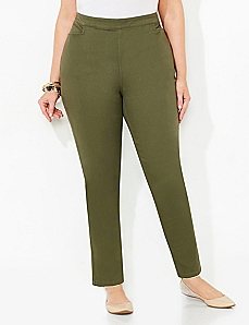 Flat-Front Everyday Pant