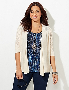 Lattice Cardigan