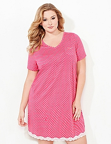 Medallion Print Sleepshirt