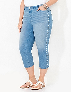 Arrowhead Denim Capri