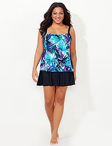 Fern Glow Swimdress