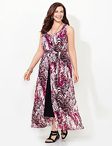 Tropic Overlay Dress