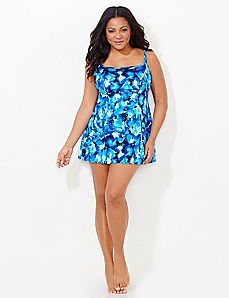 Floating Floral Swimdress
