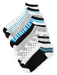 10-Pack Ankle Socks