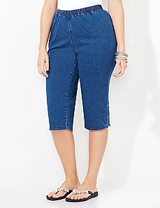 Everyday Denim Capri