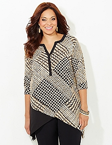 Box Blur Blouse