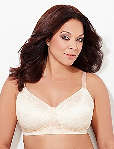 Honey Paisley No-Wire Perfect Fit T-Shirt Bra