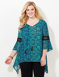 Sea Medallion Blouse