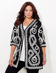 Soutache Duster Jacket