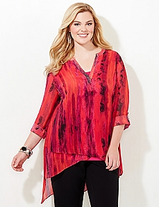 Point Of Hue Blouse