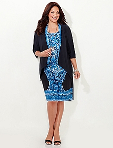 Dawn To Dusk Jacket Dress