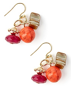 Passion Play Cluster Earrings