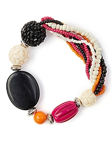 Fiesta Beaded Bracelet