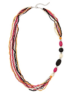 Fiesta Beaded Necklace