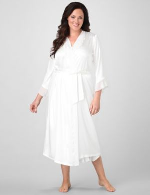 Moonlit Satin Long Robe