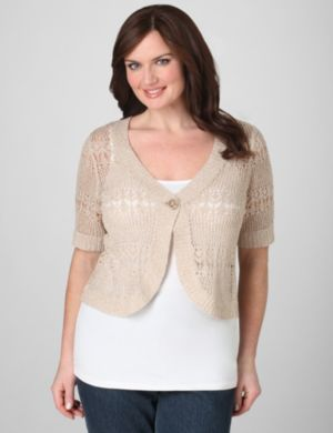 Honeycomb One-Button Shrug