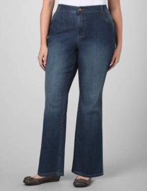 Relaxed Straight Leg Jean