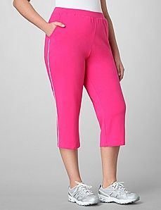 Good Sport Stretch Capri by CATHERINES