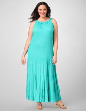 Soft Sleeveless Maxi Dress