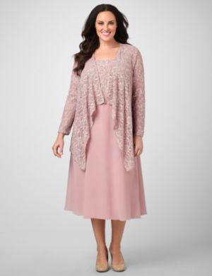 Lace Enchantment Jacket Dress