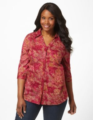 Paisley Passion Top