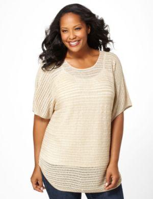 Ribbon Stitch Sweater