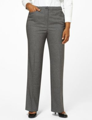 Mini Houndstooth Slimmer Pant