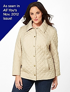 Must-Have Quilted Coat by Catherines