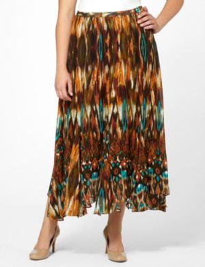 Aztec Stretch Skirt