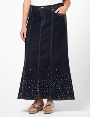 Twinkle Denim Skirt