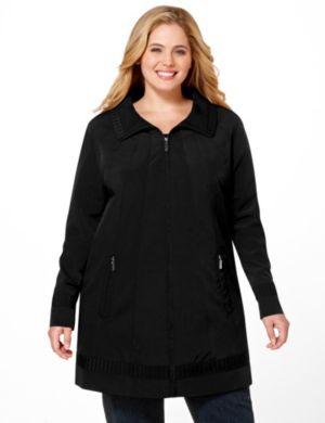 A-Line Zip Jacket