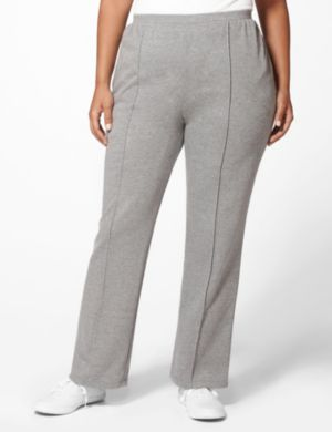 Metallic Terry Knit Pant