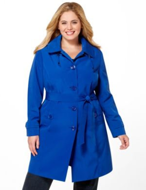 Belted Rain Coat