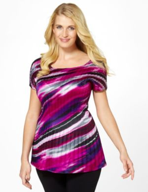 Aurora Pleat Top