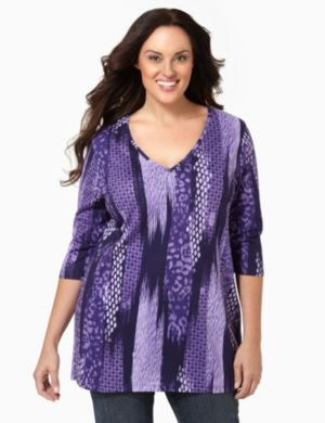 Spotted Vibrancy Tunic