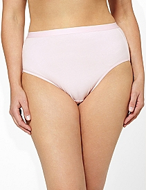 Serenada® Solid Hi-Cut Panty