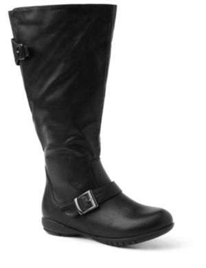 City Sleek Buckle Boot