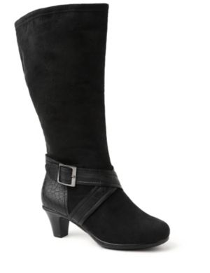 Sueded Knee-High Boot