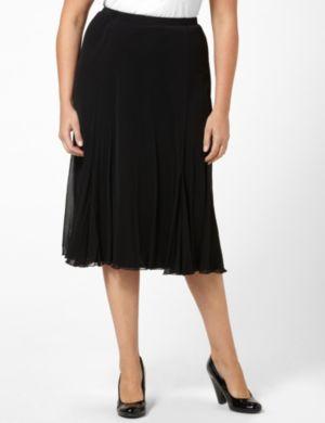 Feminine Mesh Skirt