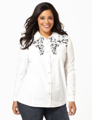 Diamond West Blouse