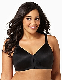 Serenada® Front-Close Back-Smoother Bra
